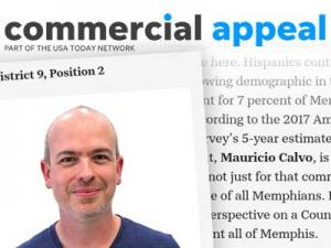 The Commercial Appeal Endorses Mauricio Calvo