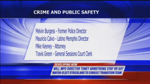 Mayor-elect talks crime prevention